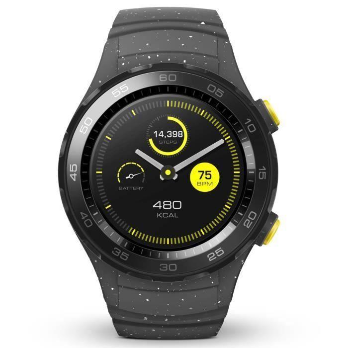 MONTRE CONNECTÉE Huawei Watch 2 Sport Gris