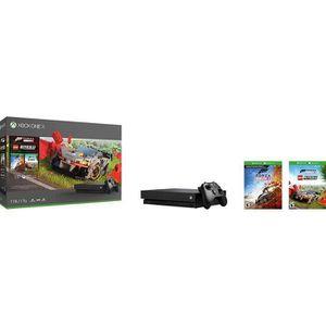 Xbox One X 1 To + Forza Horizon 4 + DLC LEGO + 1 mois d'essai au Xbox Live Gold et Xbox Game Pass