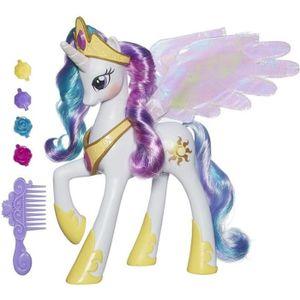 FIGURINE - PERSONNAGE MY LITTLE PONY - Princesse CELESTIA - Figurine Ele