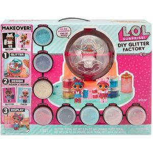 FIGURINE - PERSONNAGE L.O.L. Surprise - Poupée LOL DIY Glitter Factory