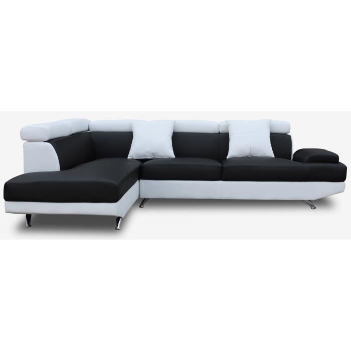 canap sofa divan scoop canap dangle gauche 4 places - Canape L