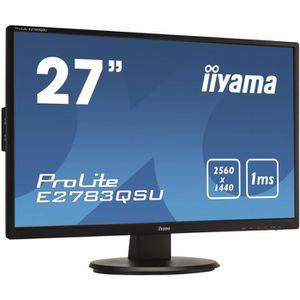 ECRAN ORDINATEUR Ecran PC - IIYAMA ProLite E2783QSU-B1 - 27