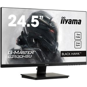 ECRAN ORDINATEUR Ecran PC Gamer - IIYAMA G-Master Black Hawk G2530H
