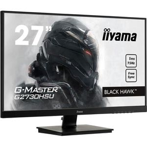 ECRAN ORDINATEUR Ecran PC Gamer - IIYAMA G-Master Black Hawk G2730H