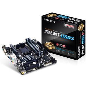 CARTE MÈRE Gigabyte Carte mère GA-78LMT-USB3 - AMD 760G + SB7