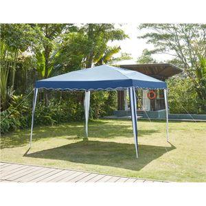 TONNELLE - BARNUM BEAU RIVAGE Tonnelle de jardin Cebu - 3x3m - Bleu