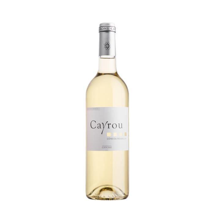 VIN BLANC Cayrou Côtes du Roussillon - Vin blanc