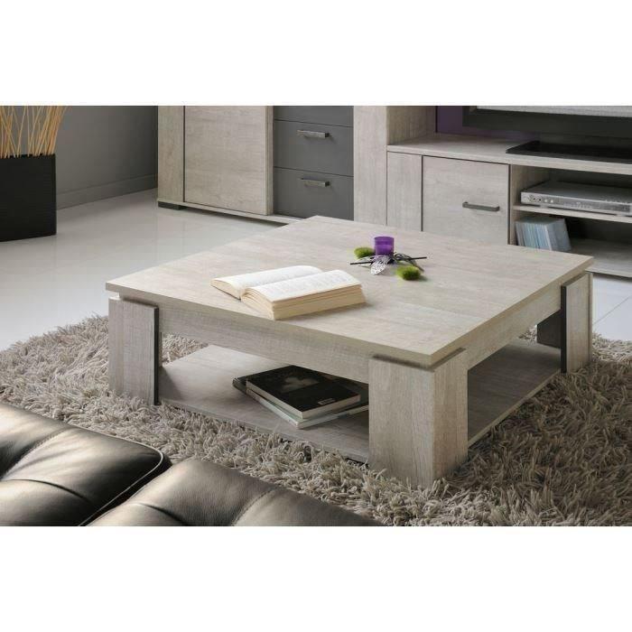 Table Basse Gris Bois