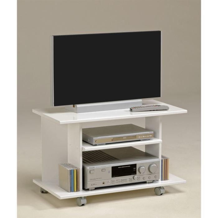 city meuble tv blanc meg ve achat vente meuble tv city meuble tv blanc panneaux de. Black Bedroom Furniture Sets. Home Design Ideas
