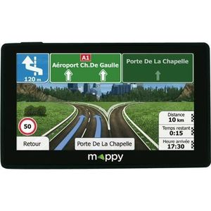 GPS AUTO MAPPY GPS Ulti X565 Poids Lourd - Cartes à vie