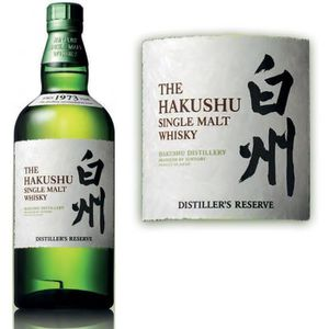 WHISKY BOURBON SCOTCH Hakushu distiller's Reserve 70cl 43°