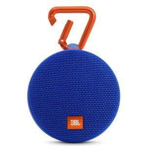 ENCEINTE NOMADE JBL CLIP 2 Enceinte Bluetooth Waterproof Bleue