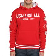 SWEATSHIRT US MARSHALL Sweat Orfeo Homme Rouge