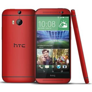 SMARTPHONE HTC One M8 Rouge
