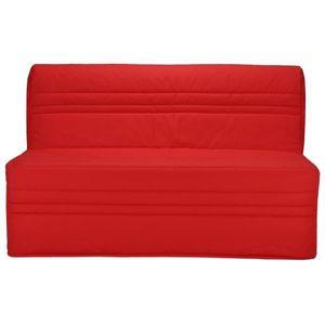 BZ JOÉ Banquette BZ 3 places - Tissu rouge - Contempo