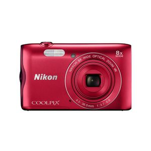 APPAREIL PHOTO COMPACT NIKON COOLPIX A300  ROUGE