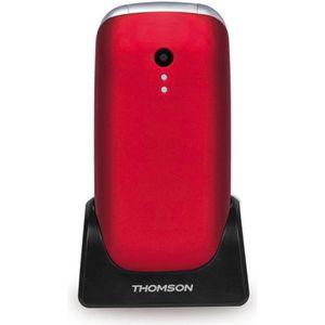 Téléphone portable THOMSON SEREA63 GSM Rouge