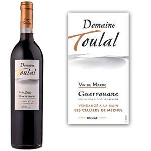 VIN ROUGE Domaine De Toulal Guerrouane - Vin rouge du Maroc