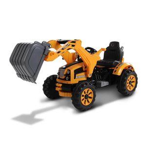 TRACTEUR - CHANTIER E-ROAD Tracteur éléctique enfant avec grue 12V, Dè