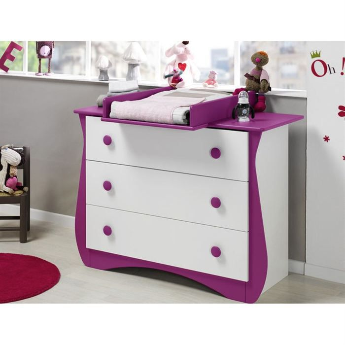 KATHERINE ROUMANOFF Commode Doudou Prune - Achat / Vente commode ...