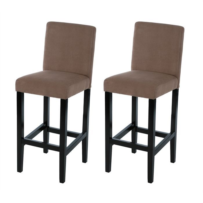 lot de 2 chaises de bar achat vente chaise cdiscount. Black Bedroom Furniture Sets. Home Design Ideas
