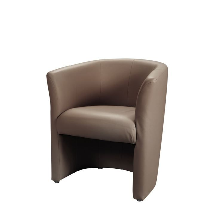 baya fauteuil cabriolet taupe achat vente fauteuil pvc polyur thane cdiscount. Black Bedroom Furniture Sets. Home Design Ideas