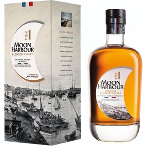 WHISKY BOURBON SCOTCH MOON HARBOUR Pier One Whisky Blended - 45,8% - 70