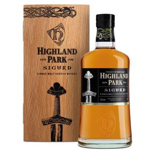 WHISKY BOURBON SCOTCH Highland Park Sigurd 70cl