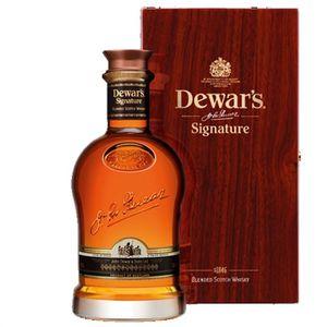 WHISKY BOURBON SCOTCH Dewar's Signature - Whisky - 70cl - 40°