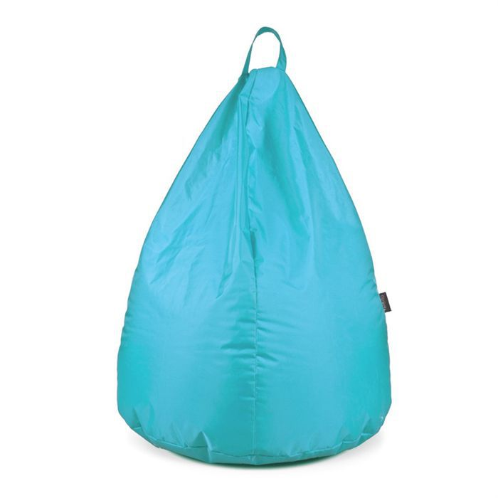 pouf poire v2 zenbag turquoise en polyester achat. Black Bedroom Furniture Sets. Home Design Ideas