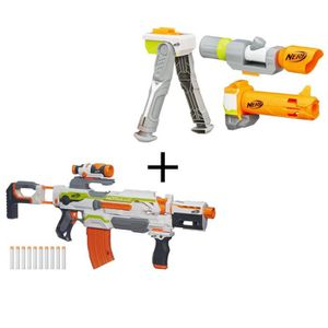pistolet nerf avec cible achat vente jeux et jouets. Black Bedroom Furniture Sets. Home Design Ideas