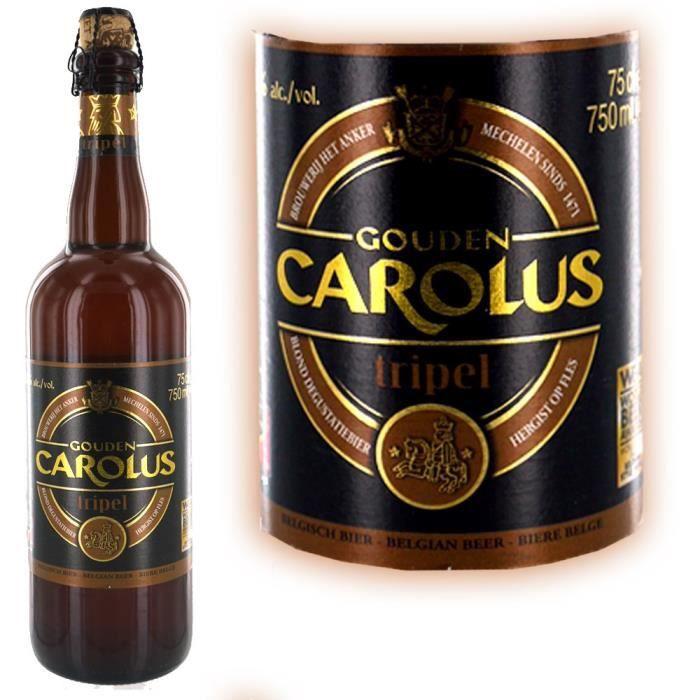 BIÈRE Gouden Carolus triple 75cl  9°
