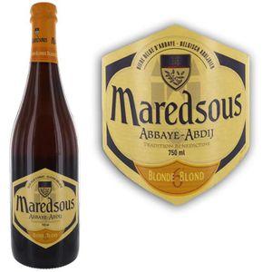 BIÈRE maredsous  6° 75cl bière abbaye triple