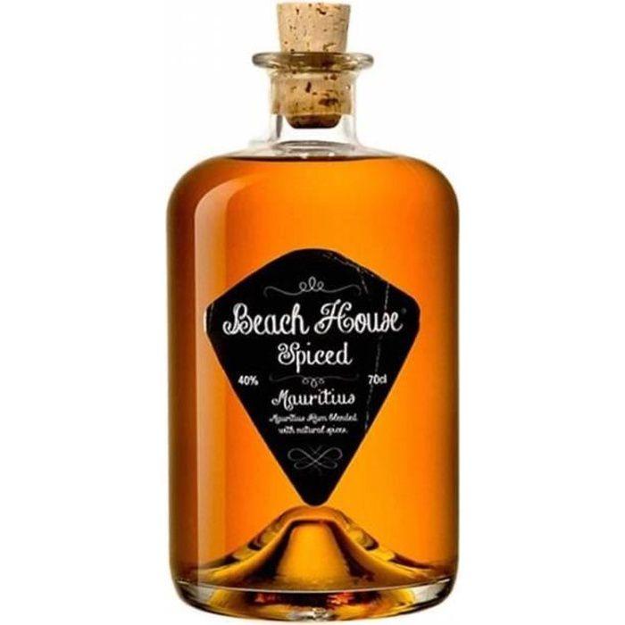 RHUM Beach House Spiced Rum Mauritius 40° 70cl