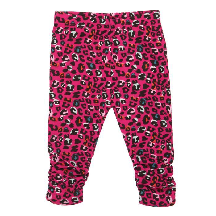 pic ouic legging b b fille fushia achat vente legging. Black Bedroom Furniture Sets. Home Design Ideas