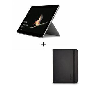 ORDINATEUR 2 EN 1 Microsoft Surface Go 4Go RAM 64Go SSD + Housse Coq