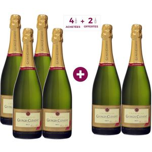 CHAMPAGNE 4 ACHETEES + 2 OFFERTES Champagne Georges Clément