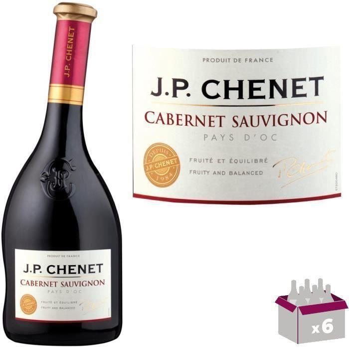 VIN ROUGE JP Chenet Cabernet Sauvignon - Vin rouge du Langue