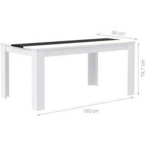 TABLE À MANGER SEULE ELÄMÄ Table à manger de 6 à 8 personnes style cont