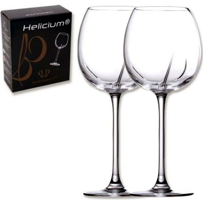 boite de 2 verres helicium vin sage 53cl achat vente verre vin cdiscount. Black Bedroom Furniture Sets. Home Design Ideas