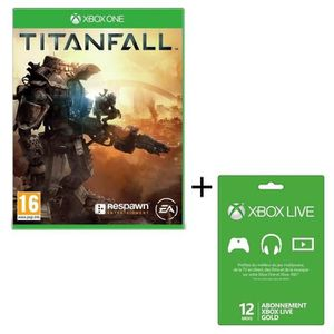 titanfall jeu xbox one xbox live 12 mois avis test. Black Bedroom Furniture Sets. Home Design Ideas