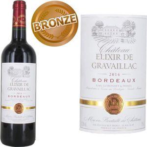 VIN ROUGE Elixir de Gravaillac 2014 Bordeaux - Vin rouge de