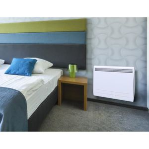 radiateur electrique double corps de chauffe. Black Bedroom Furniture Sets. Home Design Ideas