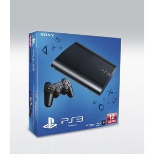 CONSOLE PS3 CONSOLE PS3 SLIM NOIRE 12 GO