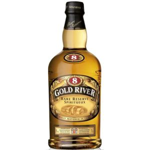 WHISKY BOURBON SCOTCH Gold River - 8 ans - Blended Whisky - 30% - 70 cl