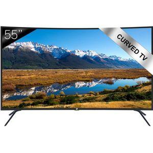 Téléviseur LED CONTINENTAL EDISON TV LED UHD 4K Écran incurvé 139