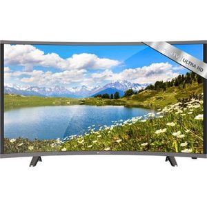 Téléviseur LED CONTINENTAL EDISON TV UHD 4K Curved 165.1cm (65'')