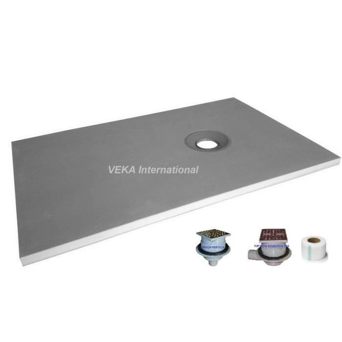 Bac De Douche A Carreler Maison Design