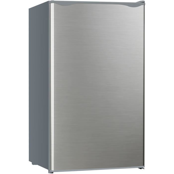 refrigerateur 1 porte avec freezer inox congelateur tiroir. Black Bedroom Furniture Sets. Home Design Ideas