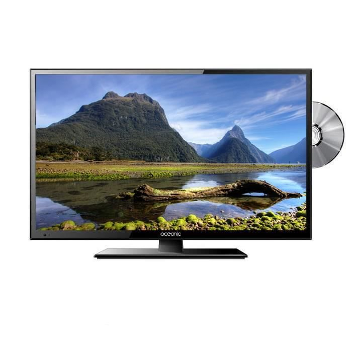 oceanic tv combo dvd led215dvd2 full hd 1080p 55cm 21 5 pouces led 1 hdmi classe b. Black Bedroom Furniture Sets. Home Design Ideas